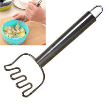 Kitchen Potato Masher Puree Fruit Stainless Steel Ricer Maker Crusher Home Tool