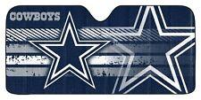 Dallas Cowboys Auto Sun Shade [NEW] NFL Car Truck Window Reflective Cover 59x27