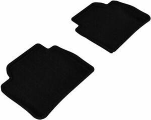 3D MAXpider Kagu 2nd Row Floormats Black for BMW 3 4 Series F30 F36 L1BM03721509