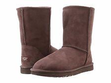 UGG Australia Classic Short Slip On Boots 5825 CHOCOLATE - Women's Size 6