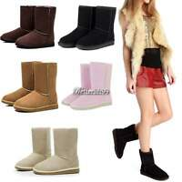 Girls Stylish 5 Colors & 5 Size Women Winter Warm Snow Boots Cute Ankle Shoes BF