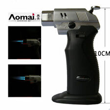 Double Flame AOMAI Welding Torch Butane Gas Refillable Cigar Cigarette Lighter