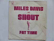 MILES DAVIS Shout Fat time CBS A1609 PROMO