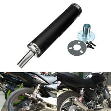 Universal Motorcycle Exhaust Muffler Silence Silencer Racing Bike 2-Stroke US -
