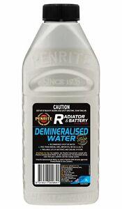 Penrite Demineralised Water 1L fits Fiat Regata 100 Super 1.6, 100 i.e. 1.6, ...