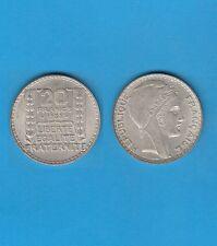 Troisième République 20 francs argent Turin 1938 Exemplaire N° 4 Superbe qualité