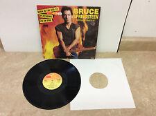 "Bruce Springsteen I'm On Fire 12"" Single Vinyl TA6342 UK Import Tested! Works!"