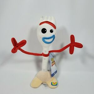 New Disney Store Toy Story 4 Forky Soft Plush Figure Toy Bonnie Cute Bendable