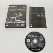 Soldier of Fortune: Gold Edition (Sony PlayStation 2, 2001) PS2 Game Complete