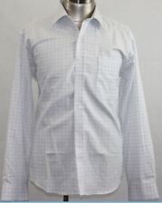 Mens Oxford Check  Business Shirt - Size (L) Large