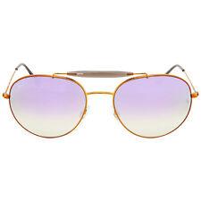 Ray Ban Round Lilac Gradient Flash Sunglasses