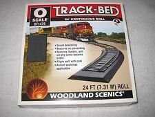 Woodland Scenics Track-Bed O-Scale ST1476 24' Continuous Roll NEW