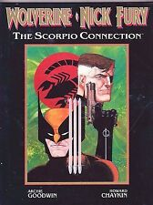 WOLVERINE & NICK FURY: THE SCORPIO CONNECTION GN VF 1989  MARVEL COMICS