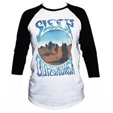 Sleep Doom Sludge Metal Dopesmoker Music Gig Poster T shirt 3/4 Sleeve Unisex
