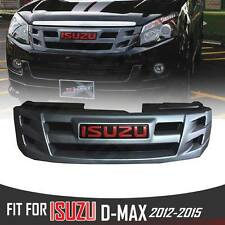 FRONT GREY GRILL GRILLE FOR ISUZU X SERIES DMAX RODEO D-MAX 2012 13 14 15 PICKUP