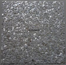 11PCS Irregular White Shell Mosaic Mother of Pearl Kitchen Bathroom Wall Tile