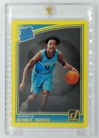 2018 Panini Donruss Rated Rookie Yellow Flood Devonte Graham #189, Parallel