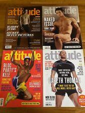 4 x Issues of Attitude Gay Lifestyle Magazine