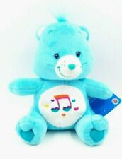 "Care Bear Heartsong Bear 10""  Plush Blue Music Symbol Stuffed Animal Toy 2006"