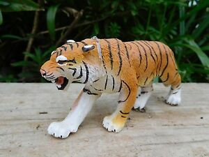 BENGAL TIGER big cat Safari Ltd Plastic wildlife mammal replica - 15cm x 6cm NEW