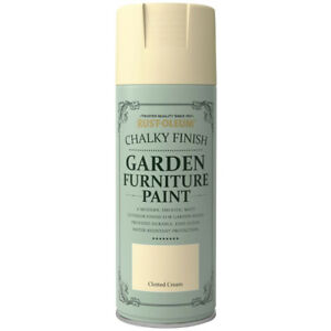 Chalky Finish Garden Furniture Waterproof Mould Resistant Spray Can Brush Paint
