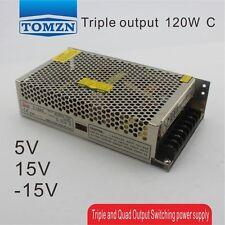 T 120W C Triple output 5V 15V -15V Switching power supply