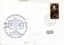 Schiffpost Bundesmarine aus den 60/70er Jahren - Tender Saar SEF 4/77