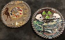 """Nuclear Limited Duty Officer LDO/CWO/CPO Challenge Coin 3""""w/ Mustang (SSN Coin)"""