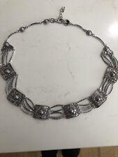 silver chain belt, 95cm