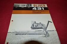 Oliver Tractor 431 Combine Dealer' Brochure ALIL3