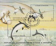 Sao Tome e Principe Nr. Bl. 98 (784-785) Ausgestorbene Tiere