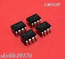 4 pz Circuito integrato LM311P Comparatore di tensione integrata - LM 311 P
