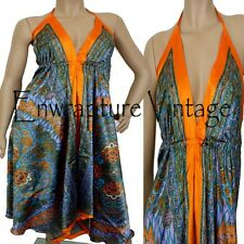 GODDESS BOHO MULTI WEAR MAXI SCARF COCKTAIL DRESS 8-14