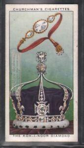 Koh-i-Noor Diamond Gem Jewel India Kohinoor 80 Y/O Trade Ad Card