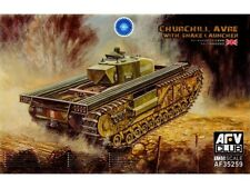 AFV Club 1/35 Churchill AVRE with Snake Launcher #35259