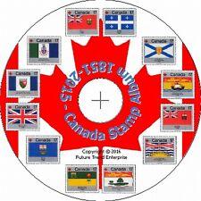 Sello de Canadá Páginas de Álbum en CD 1851-2016 - Envío Gratis