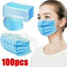 100x Air Purifying Face Mask Cover Anti Haze Foggy Mask Mouth Guard Cover Masks