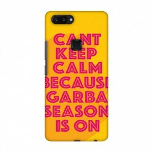 Garba Cant Keep Calm HARD Protector Case Snap On Slim Phone Cover Accessory