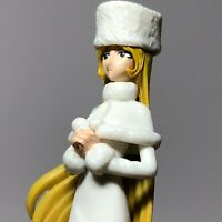 "Konami Galaxy Express 999 4"" White MAETEL Toy Figure Japan HARLOCK Yamato RARE"