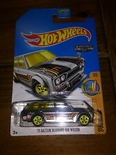 Hot Wheels '71 Datsun Bluebird 510 Wagon Zamac Walmart Exclusive Surf Patrol