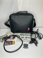 Iomega Jaz Accessories Lot: Power Adapter + SCSI cable + 50HD-25D + Travel Bag