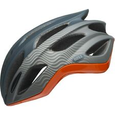 BELL FORMULA ROAD HELMET : SLATE GREY/ORANGE SMALL 52-56CM NEW WITH TAGS