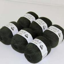 6Ballsx50g Pure Sable Cashmere Hand Knitwear Wool Shawls Soft Crochet Yarn 22