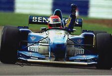 Johnny Herbert Hand Signed Mild Seven Benetton12x8 Photo F1 1.