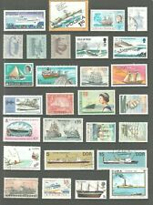 BOATS Maritime SHIPS Thematic STAMP Collection MINT USED Our Ref:TT18