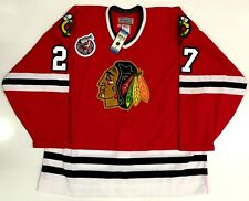 JEREMY ROENICK AUTHENTIC 1993 CUP 100TH CHICAGO BLACKHAWKS CCM JERSEY SIZE 52