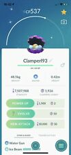 Pokemon Go - 5x Clamperl Catching Service - Possible Shiny