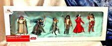 Star Wars: The Last Jedi Ornament Set of 6 Figures - NEW
