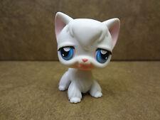 Littlest Pet Shop #9 Angora Cat Kitten Blue Eyes Lps