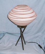 *Space Age / Atomic / Spaceship - Tripod Table Lamp*
